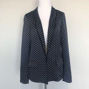 Scotch & Soda Pyjama Silky Printed Blazer Jacket